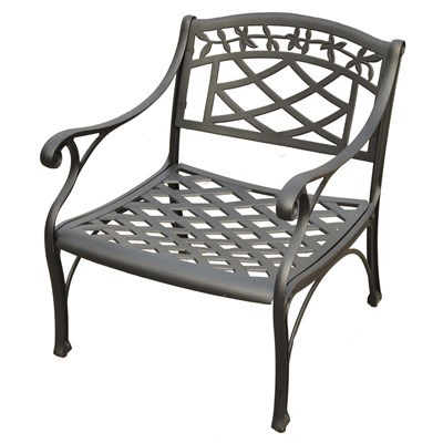 Sedona Metal Club Chair