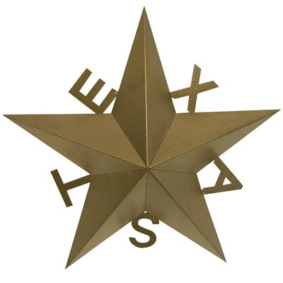 "23"" Texas Star Indoor/Outdoor Decor"
