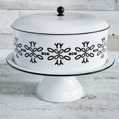 Oh Gussie! Cake Stand with Lid