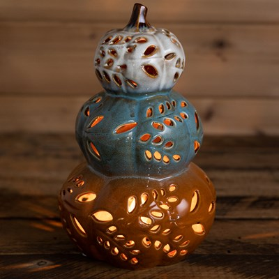 Ceramic Pumpkins Accent Light