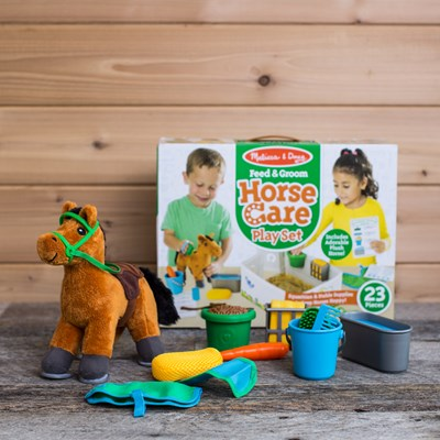 Feed and Groom Horse Play Set