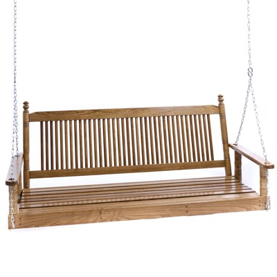5' Porch Swing - Hardwood