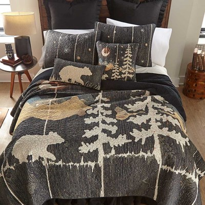 Moonlit Bear Quilt by Donna Sharp - Full/Queen