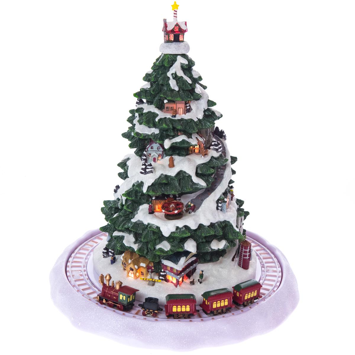 Christmas Eve Express Light-Up Musical Decor