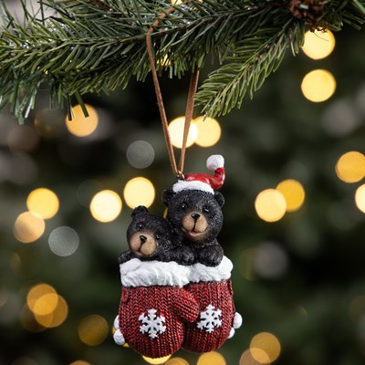 Bears in Mittens Ornament