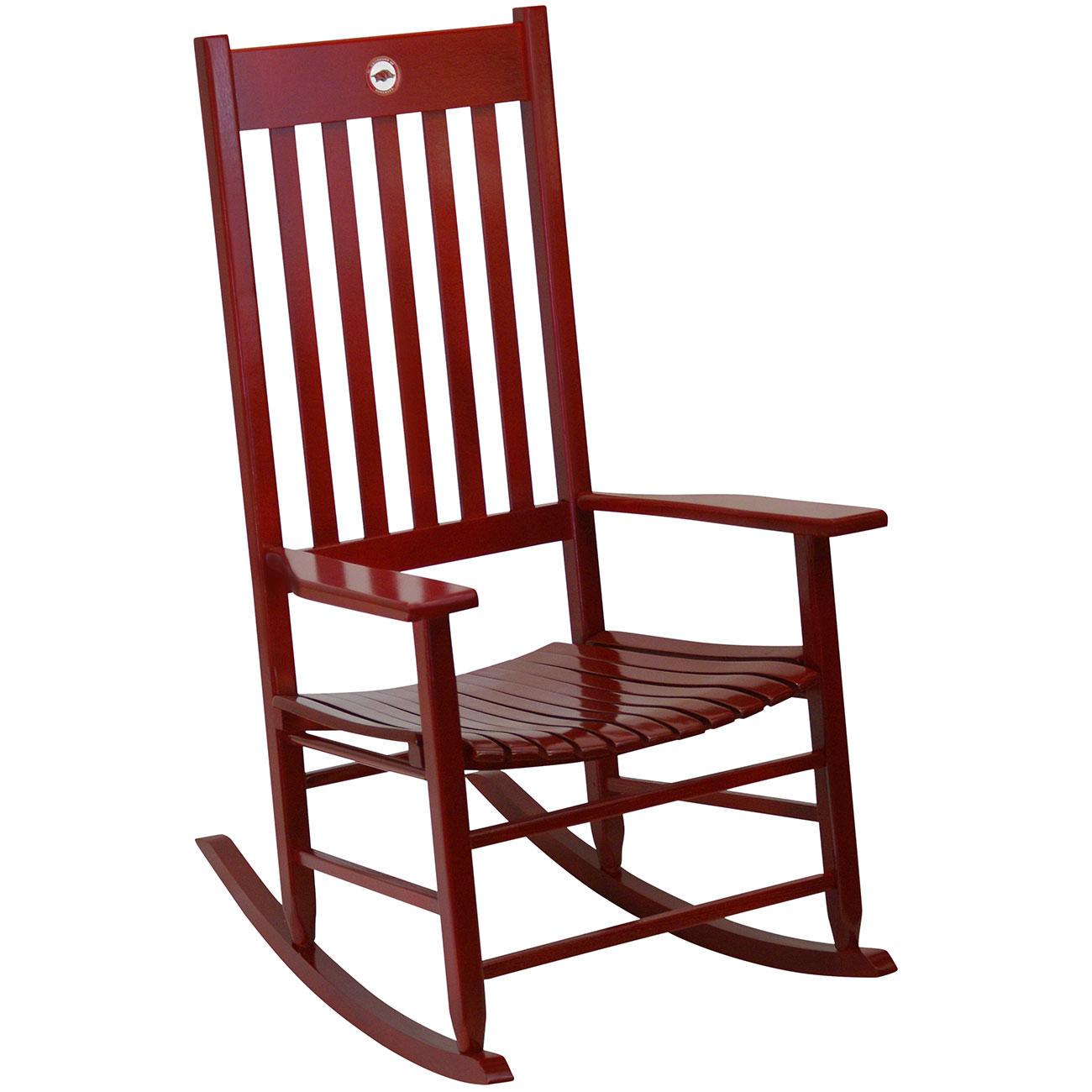 Team Color Rocking Chair   Arkansas