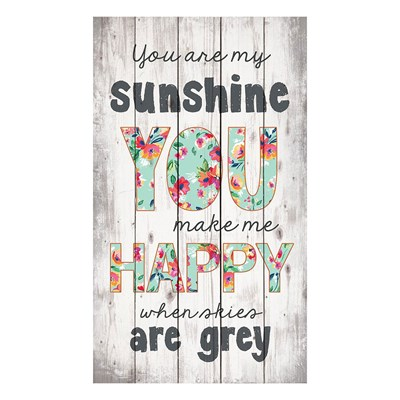"""You Are My Sunshine"" Pine Pallet Wall Decor"