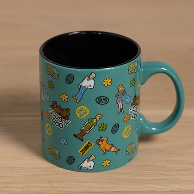 Scooby Doo Sticker Pattern Mug - 20 oz.