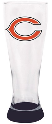 Chicago Bears Highlight Glass Pilsner
