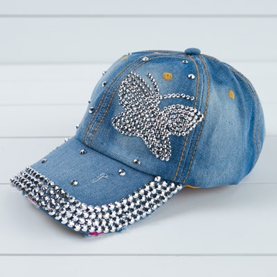 Butterfly Bling Hat