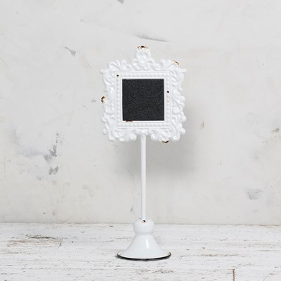 Metal Photo Holder and Chalkboard