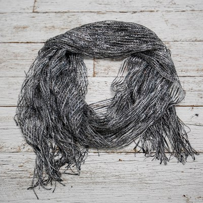 Women's Metallic Scarf