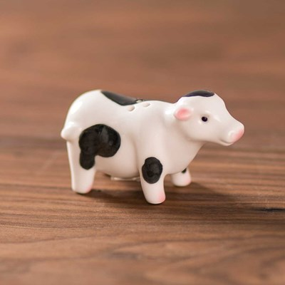 Mini Cow Standing Pepper Shaker