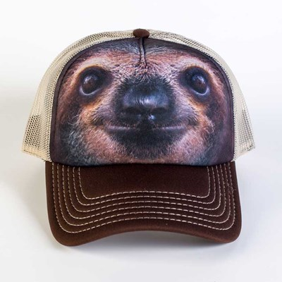 Sloth Face Trucker Hat