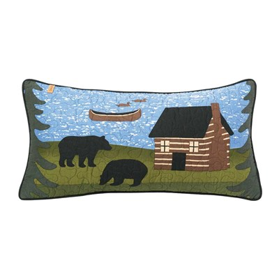 Bear River Rectangle Decorative Pillow by Donna Sharp