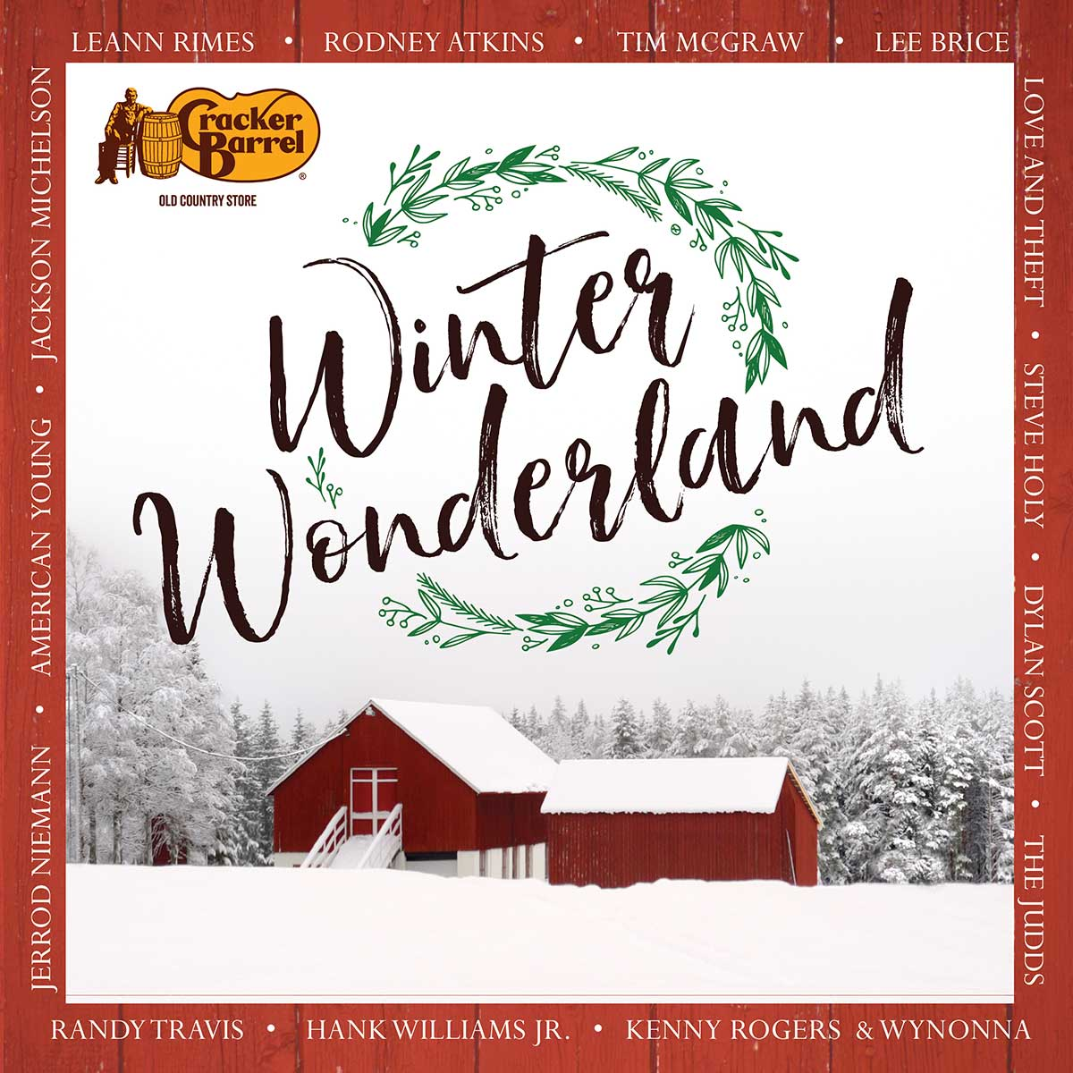 shop.crackerbarrel.com: Winter Wonderland Christmas CD - Cracker ...