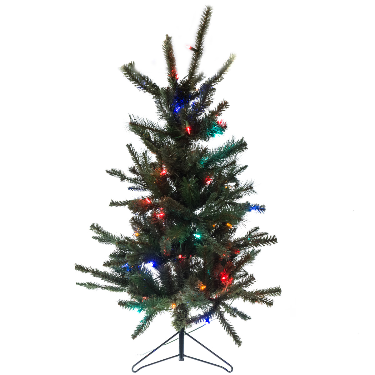 9\' Unlit Slim Pine Christmas Tree | Collections | Traditional ...