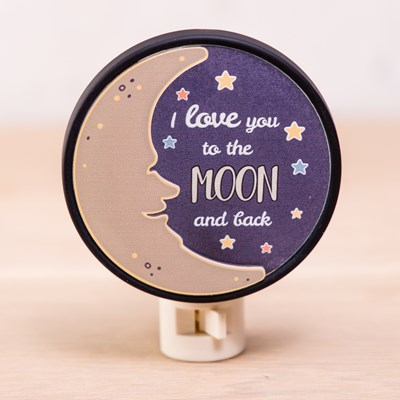 """Moon and Back"" Night Light"