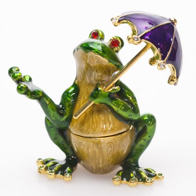 Decorative Frog Box
