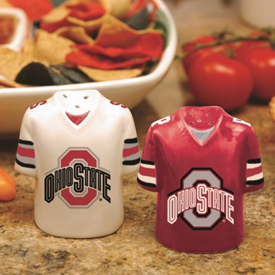 Jersey Salt & Pepper Shaker Set - Ohio State