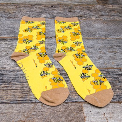 """Hey Honey"" Bee Sock"