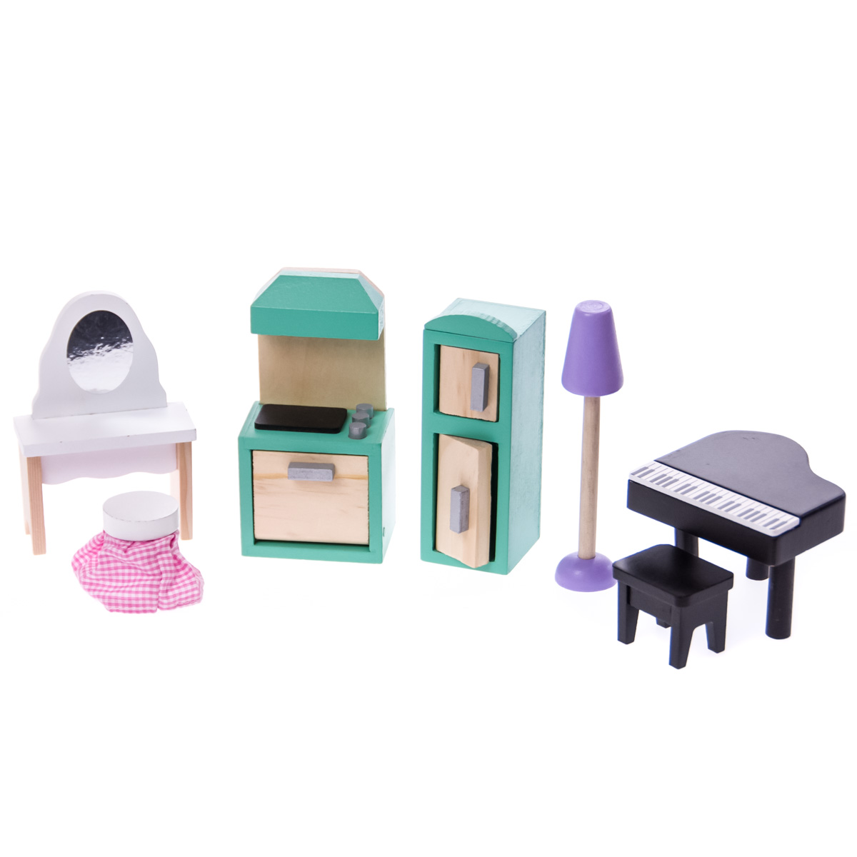 Country Road Cottage Dollhouse Furniture Set 0