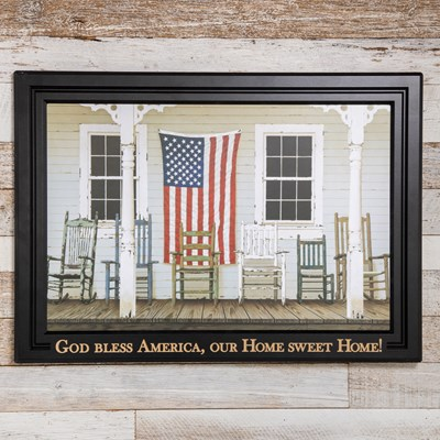 Front Porch Framed Wall Decor