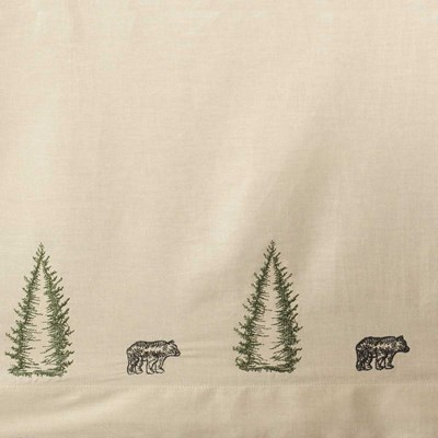 Bear Creek Bed Skirt by Donna Sharp - King