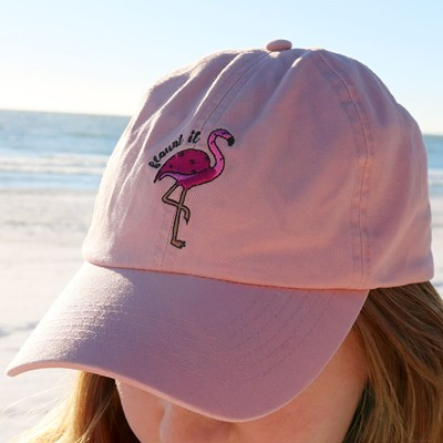 Flamingo Baseball Hat