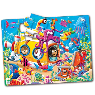Ocean Friends 12-Piece Big Floor Puzzle