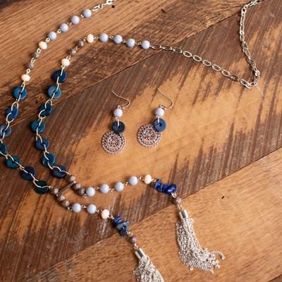 2-Piece Necklace and Earring Set