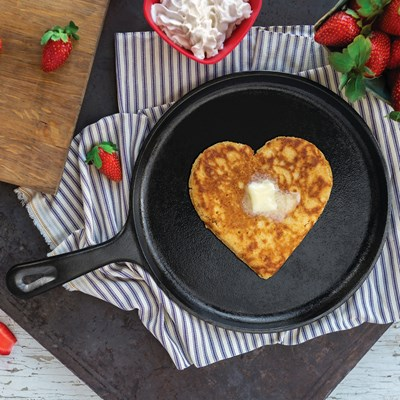 "Lodge ® 10.5"" Cast Iron Griddle"