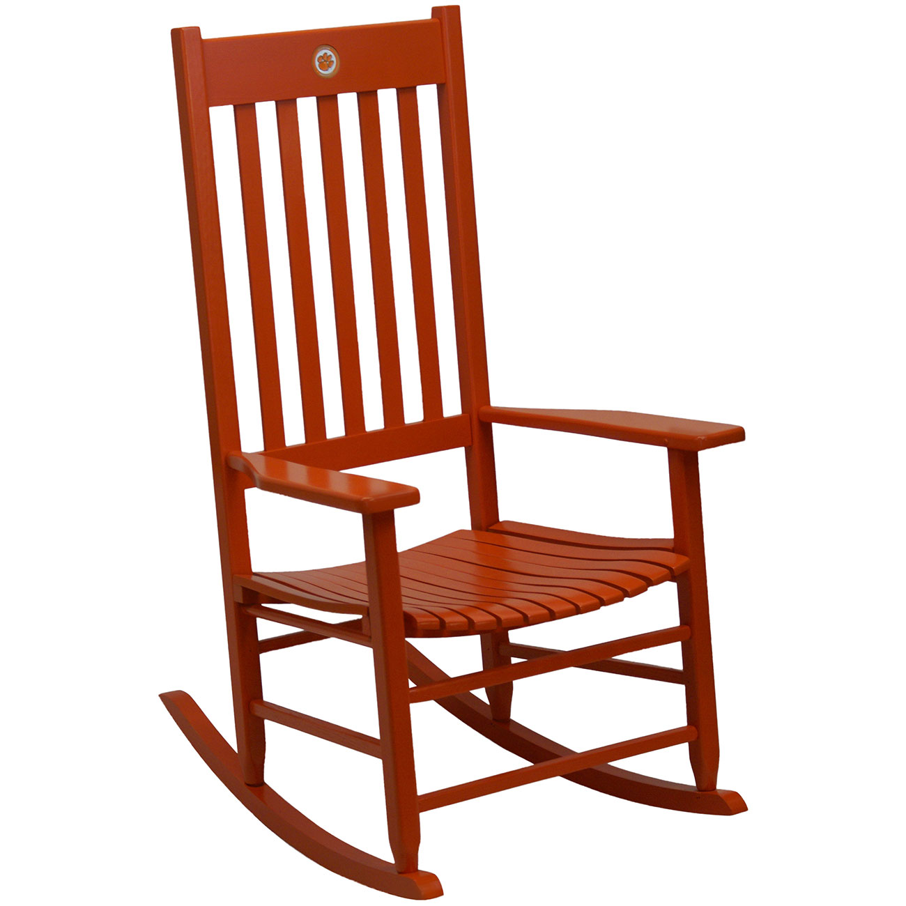 Team Color Rocking Chair   ClemsonTeam Color Rocking Chair   Clemson ...