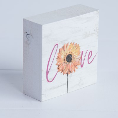 """Love"" Daisy Block"