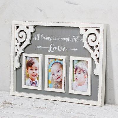 """Fall in Love"" Wall Photo Frame"
