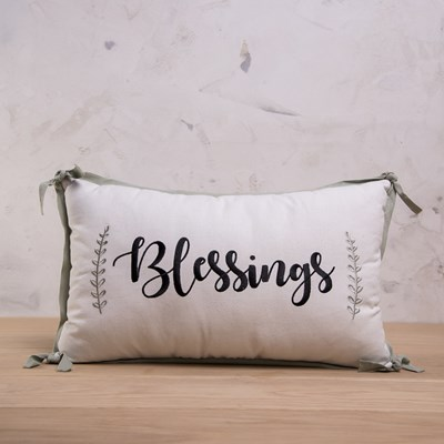 """Blessings"" Pillow"