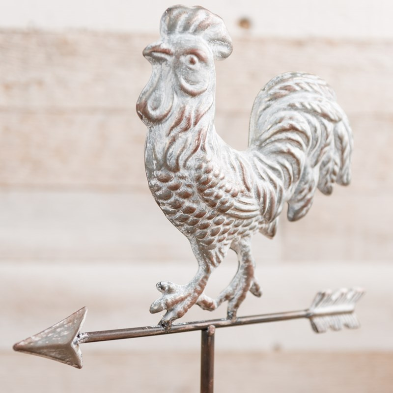 Decorative Metal Rooster Weathervane 1