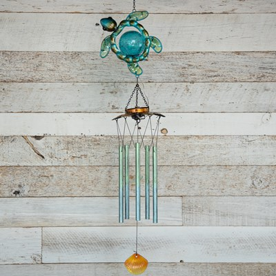 Sea Turtle Solar Wind Chime