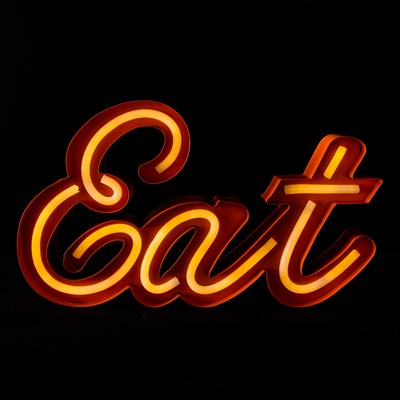 "LED ""Eat"" Light"