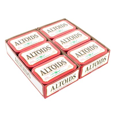 Altoids Peppermint Mints - 12 Count