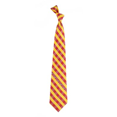 Check Pattern Tie - Kansas City Chiefs