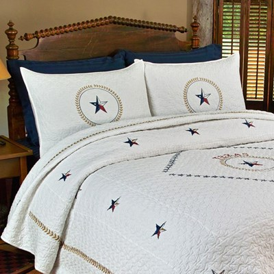 Texas Pride Quilted Sham