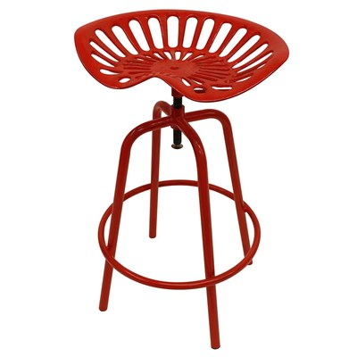 Tractor Seat Stool - Red