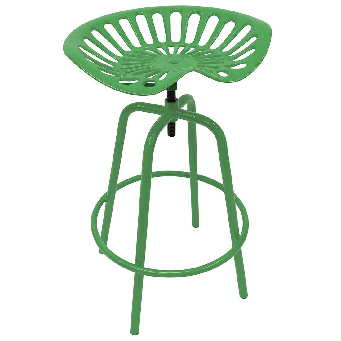 Outstanding Tractor Seat Stool Green Creativecarmelina Interior Chair Design Creativecarmelinacom