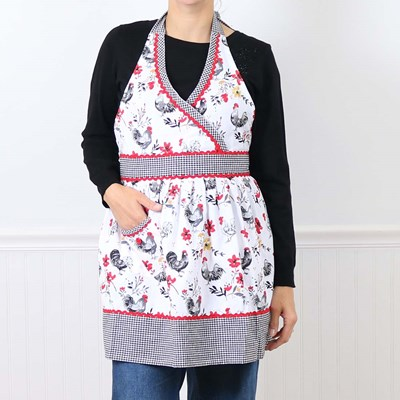Rooster Hostess Apron