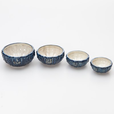 Stoneware Measuring Cups - Set of 4