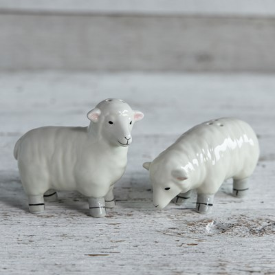 Oh Gussie! Sheep Salt and Pepper Shaker Set
