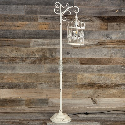 Metal Birdcage Floor Lamp