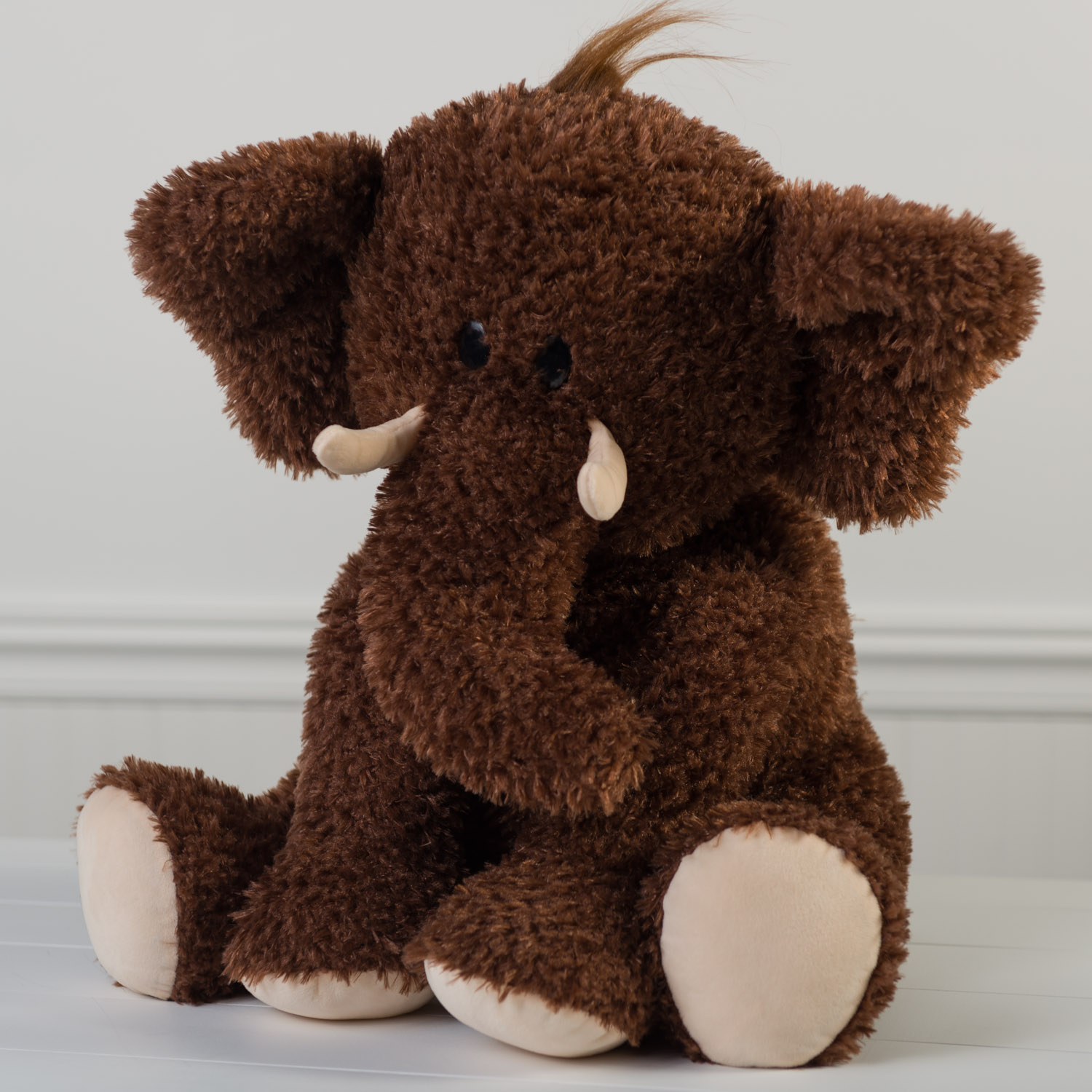 Jumbo Plush Wooly Mammoth