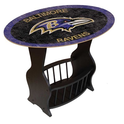 Baltimore Ravens - Team Color End Table